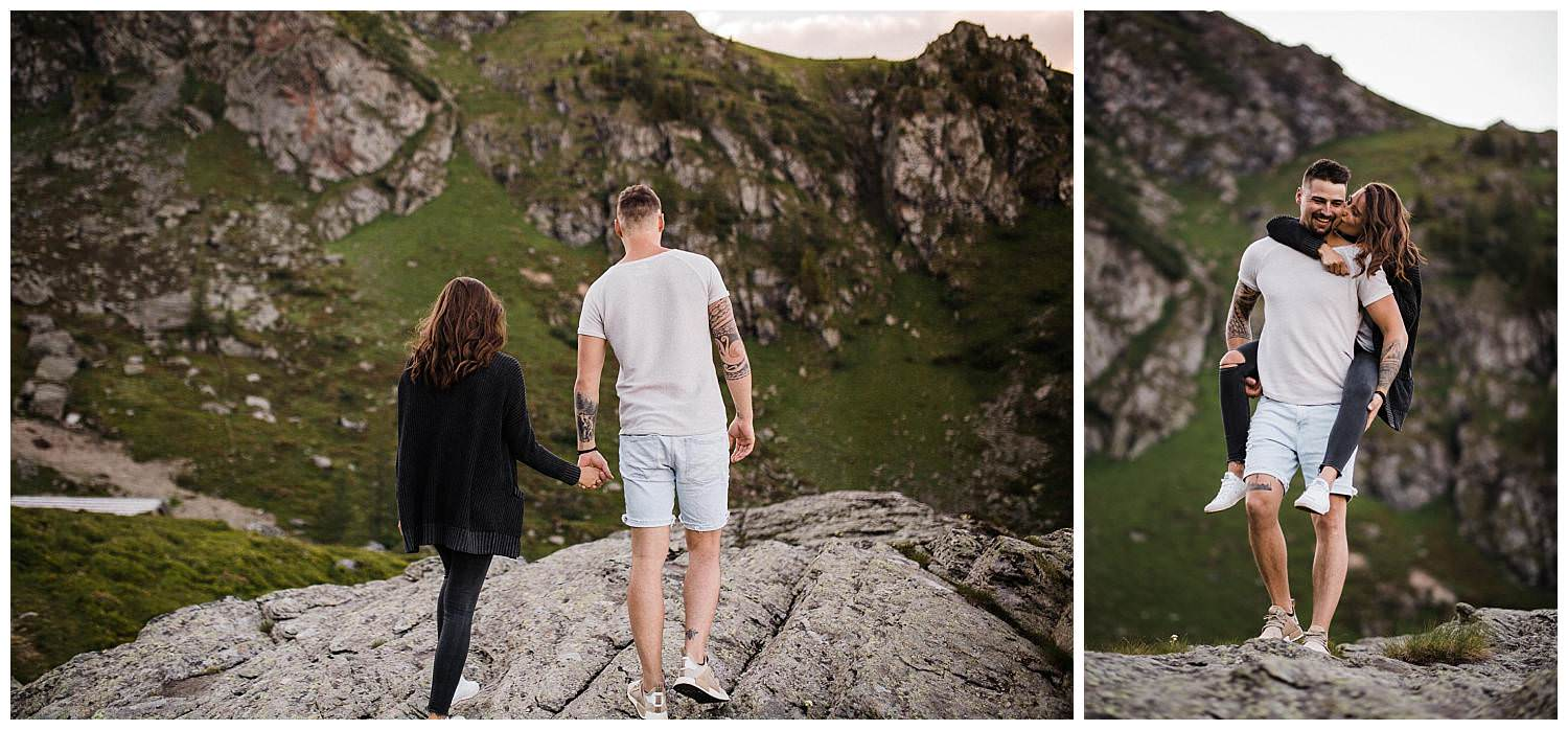 Engagement Photoshoot in the mountains