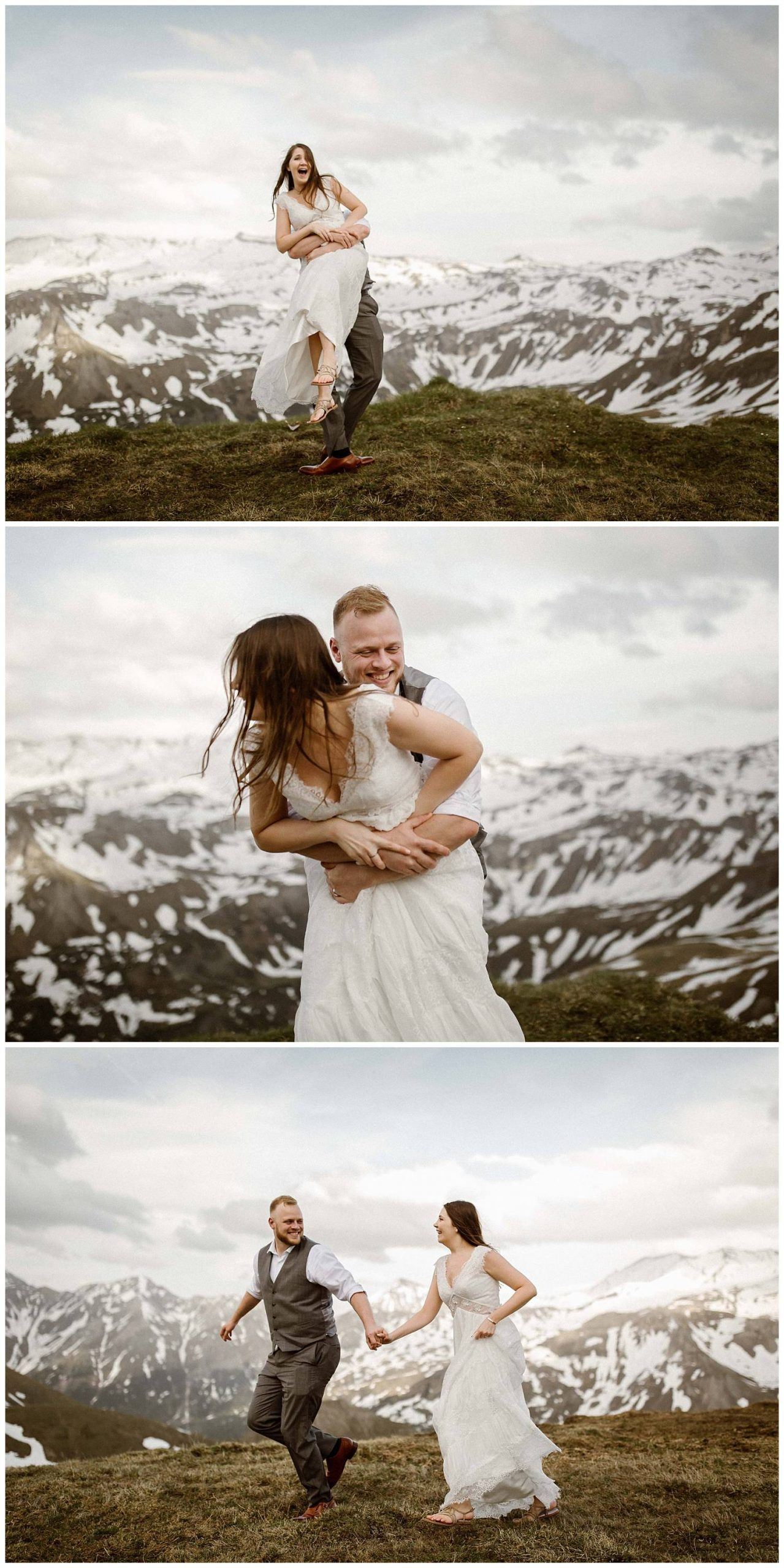 Wedding Vow Renewal in the mountains