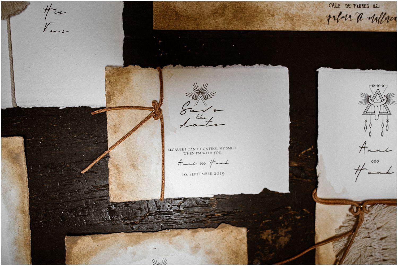 Wedding Stationary Calligraphy