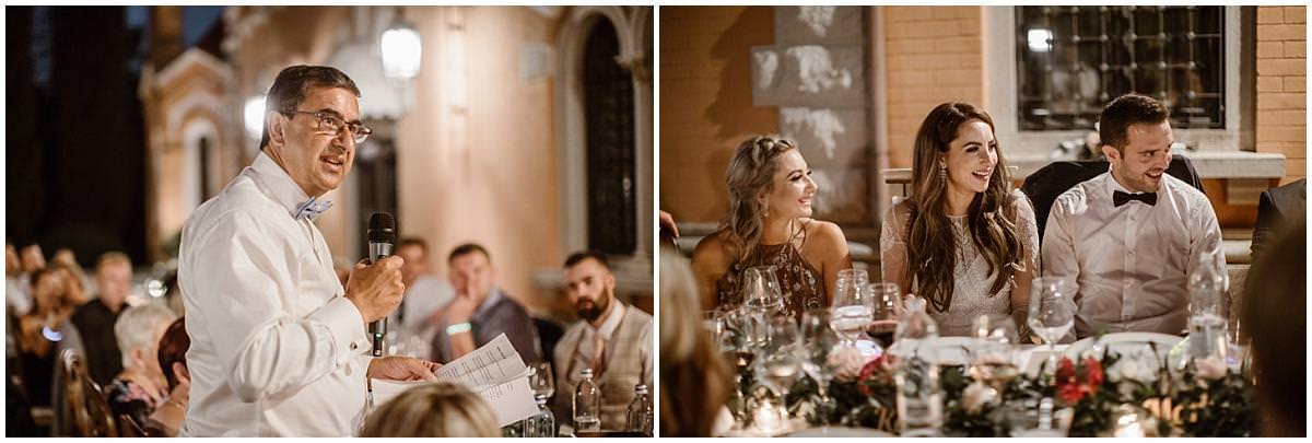 italy wedding party