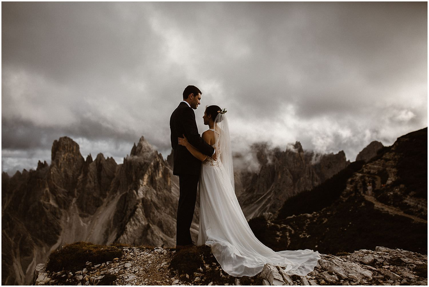 Dolomites Wedding
