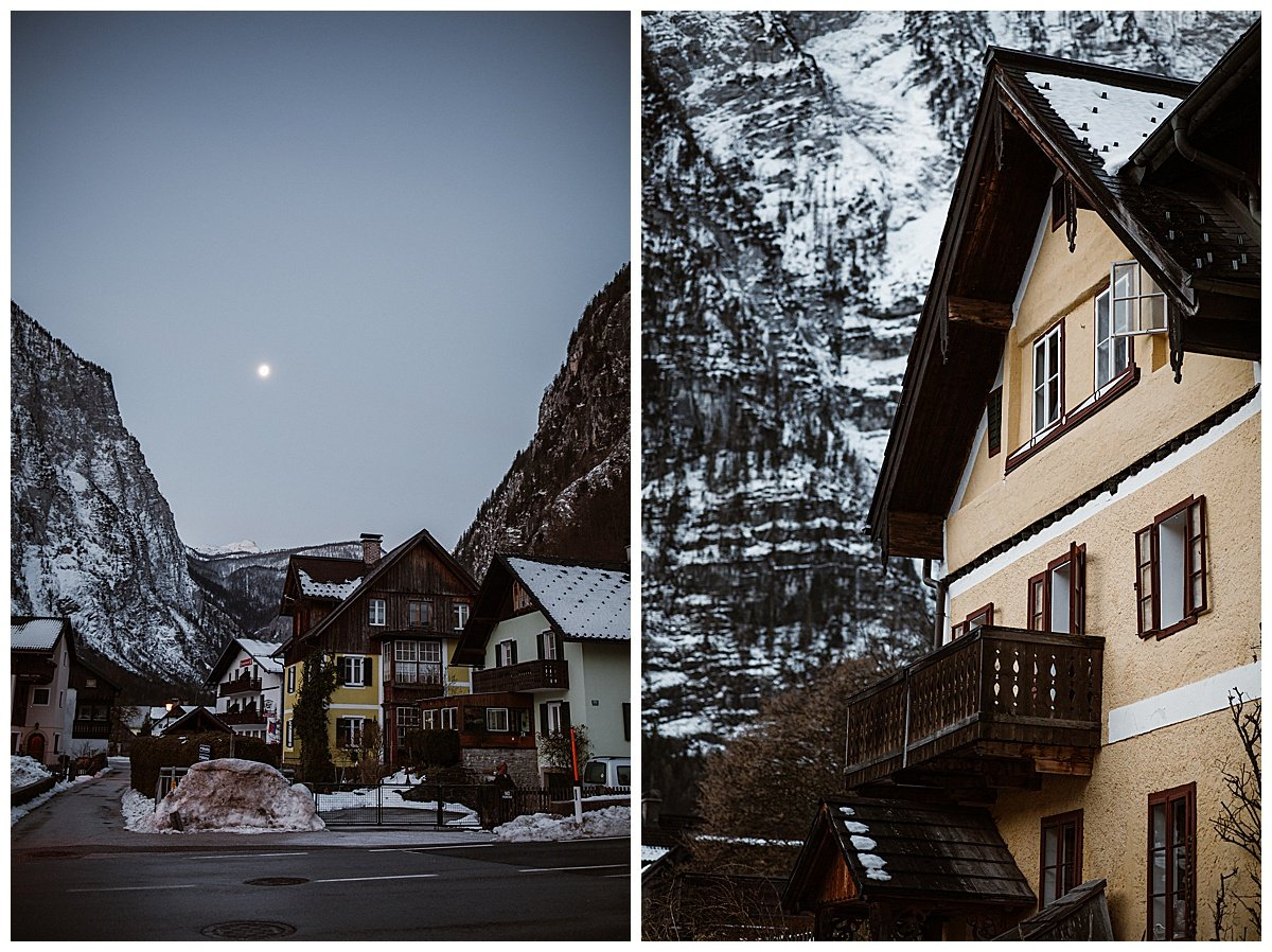 Hallstatt at dawn