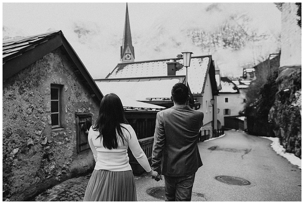 Hallstatt engagement photos