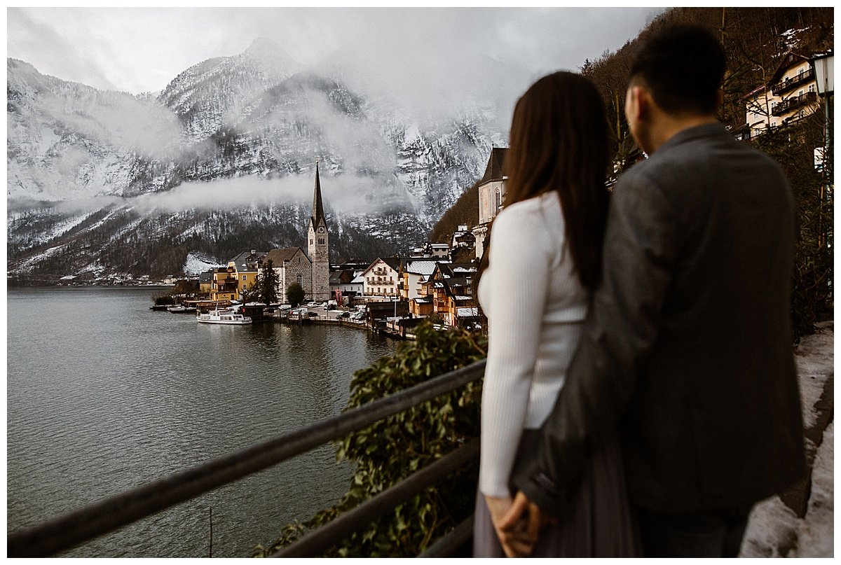 Hallstatt pre-wedding photos