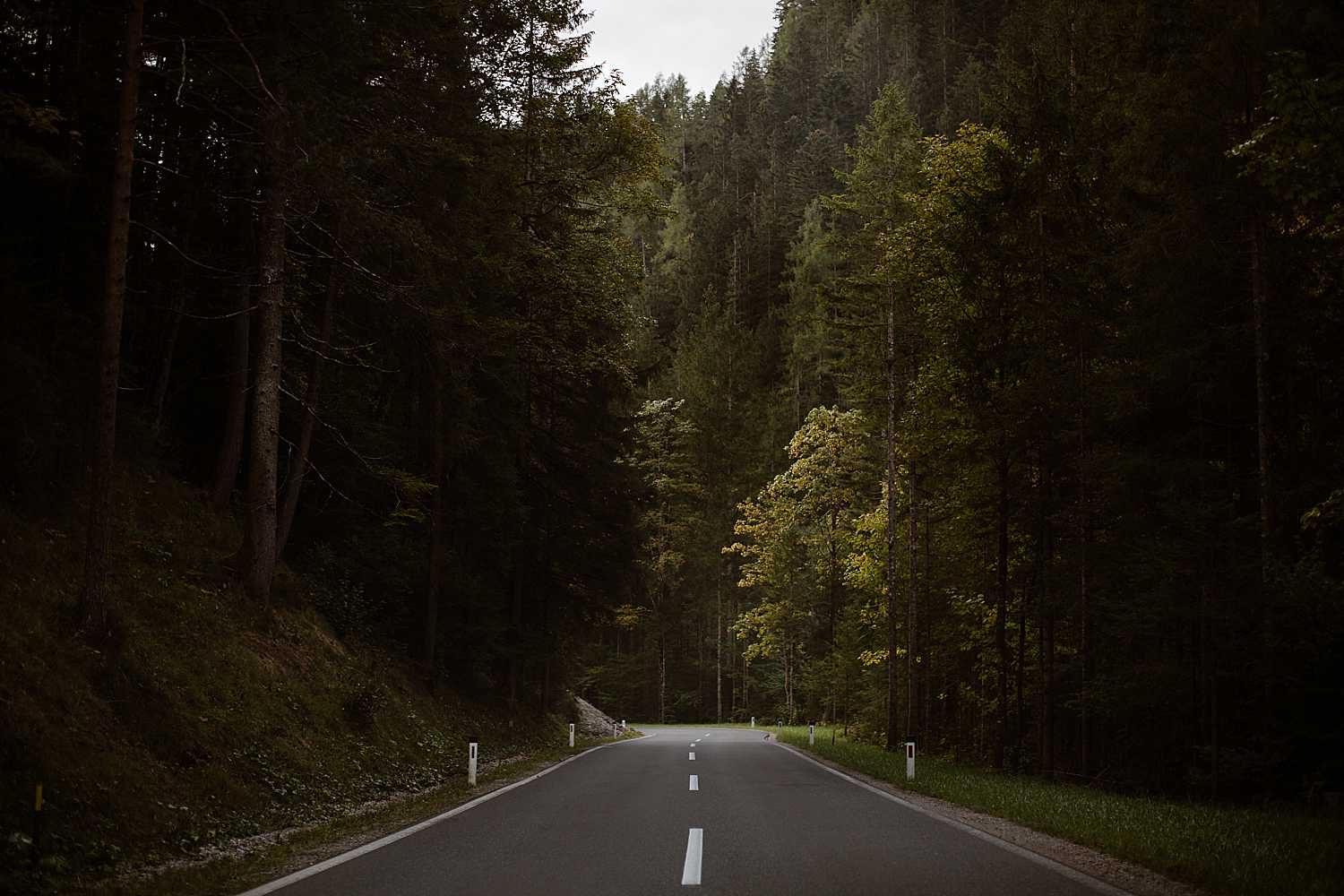 Road to Schladming Austria