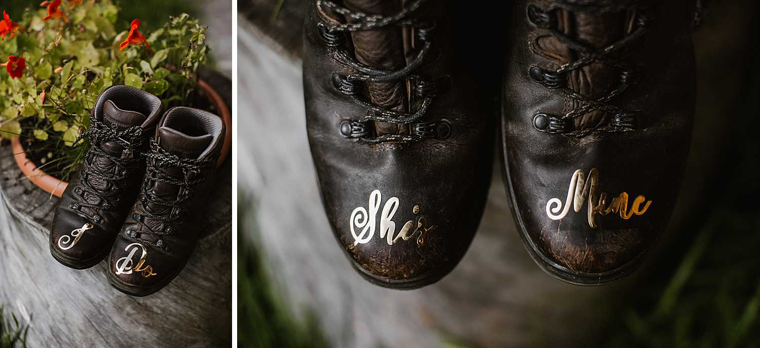 Elopement Hiking Shoes
