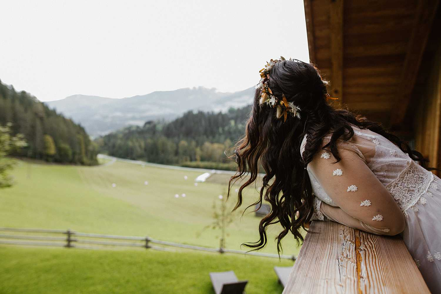 Getting Ready Elopement Bride