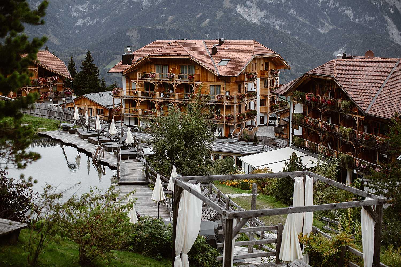 Luxury Mountain hotel Austria
