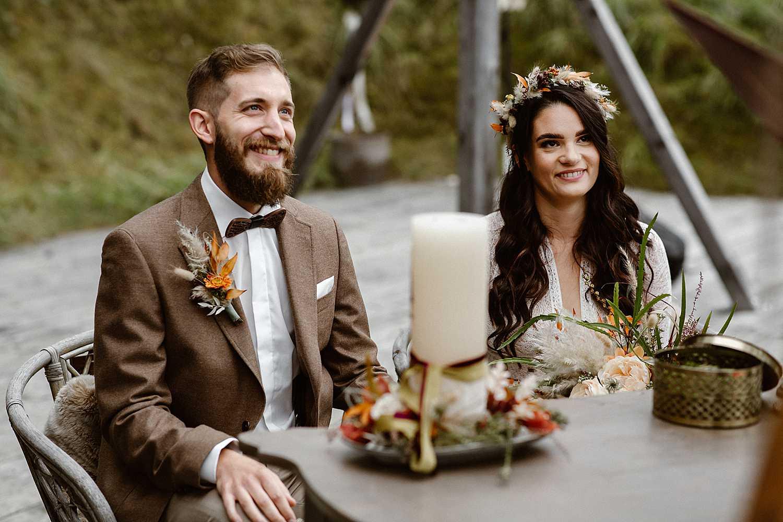 Elopement Wedding Ceremony Austria