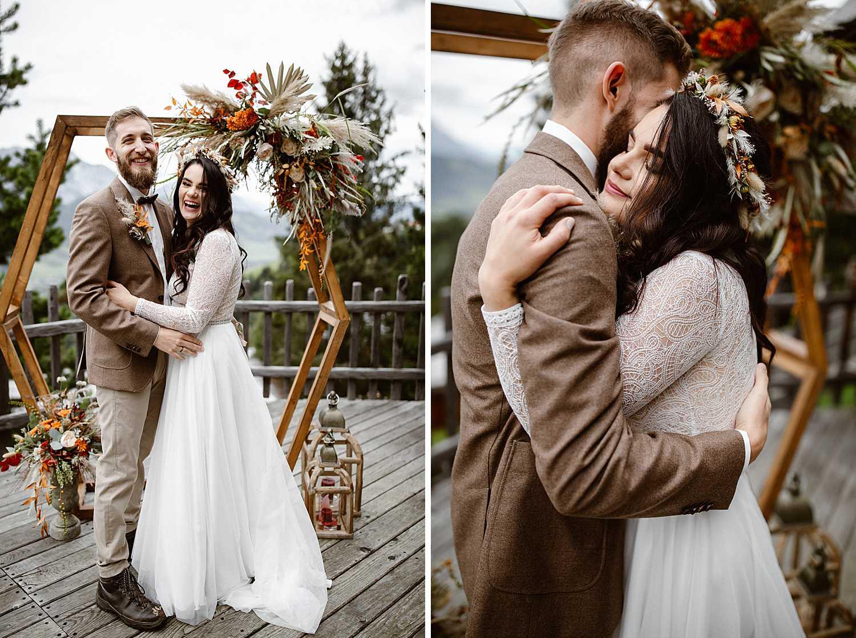 Elopement Wedding Hexagon