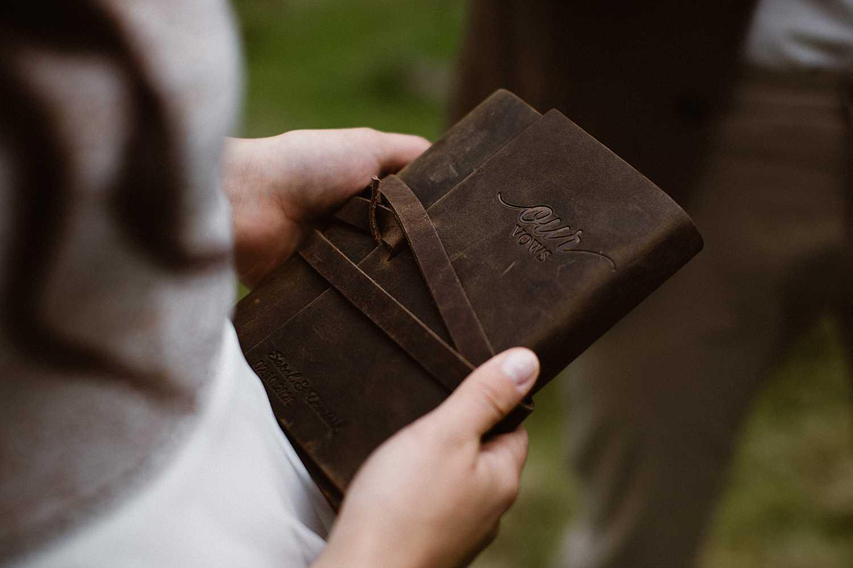 Elopement Vow Books