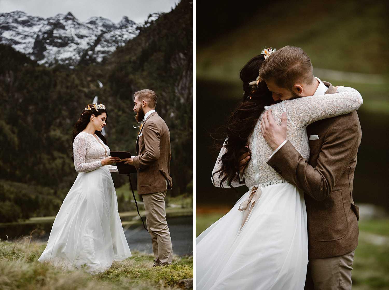 Wedding Vows in the Austrian Alps