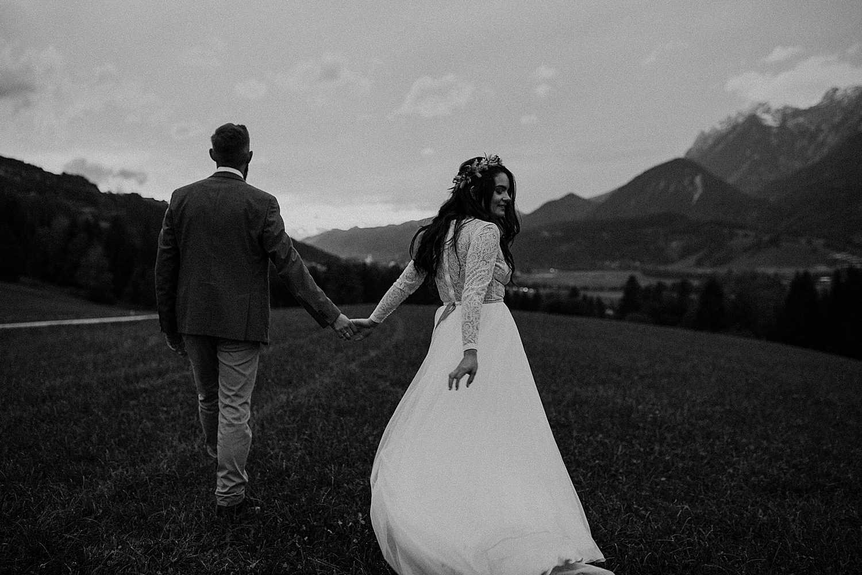 Adventure elopement Austria